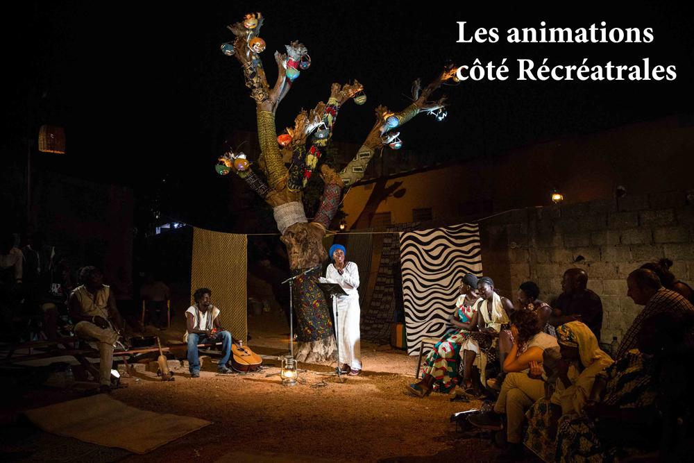 Soirée de rencontre avec Aminata Traore organisée par les Récréâtrales.