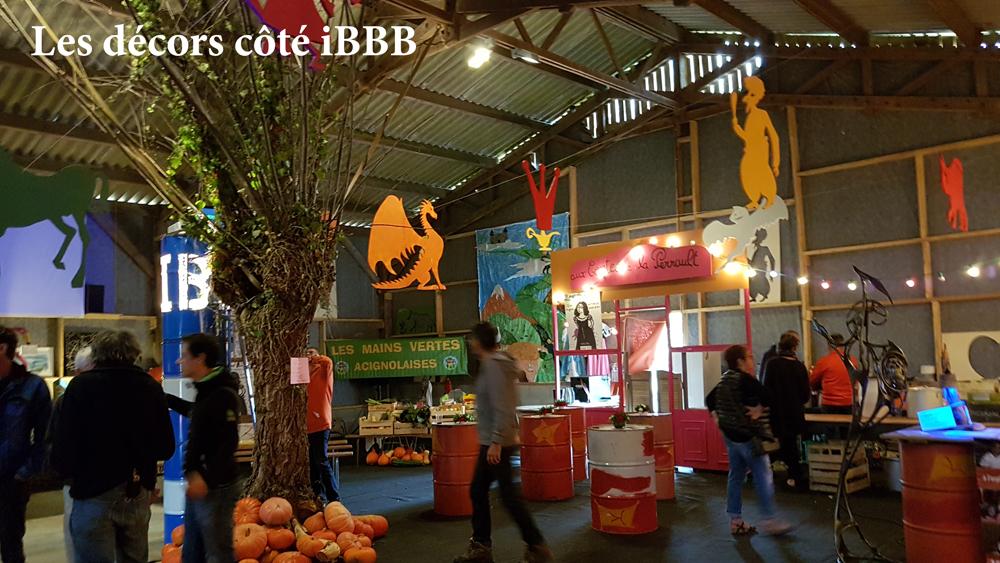 Les décors côté iBBB