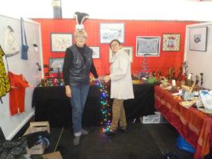 Le marché de Noël 2015 avec Sylvie et Nadine